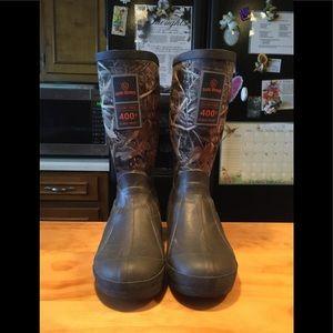 Boys Youth Steel Shank Duck,Deer Hunting Boots